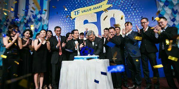Thousands of people attended TF Value-Mart's Anniversary Dinner