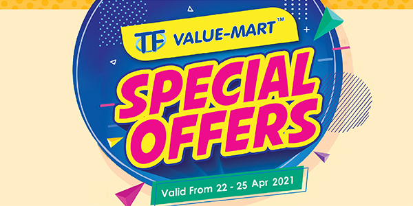 April 2021 Payday Special (Valid from: 22 – 25 Apr 2021)