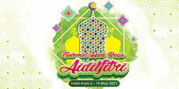 TFVM Hari Raya Promotion (Valid from: 6 – 19 May 2021)