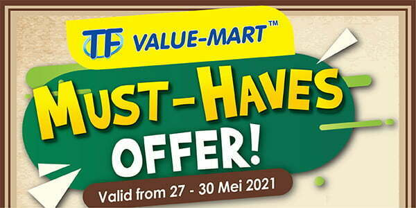 TFVM Weekend Promotion (Valid from: 27 – 30 May 2021)
