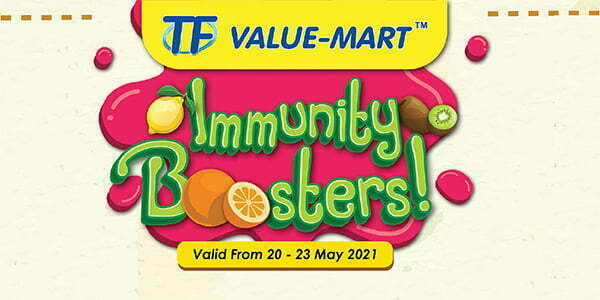 TFVM Immune Fruits Fair Promotion (Valid from: 20 – 23 May 2021)