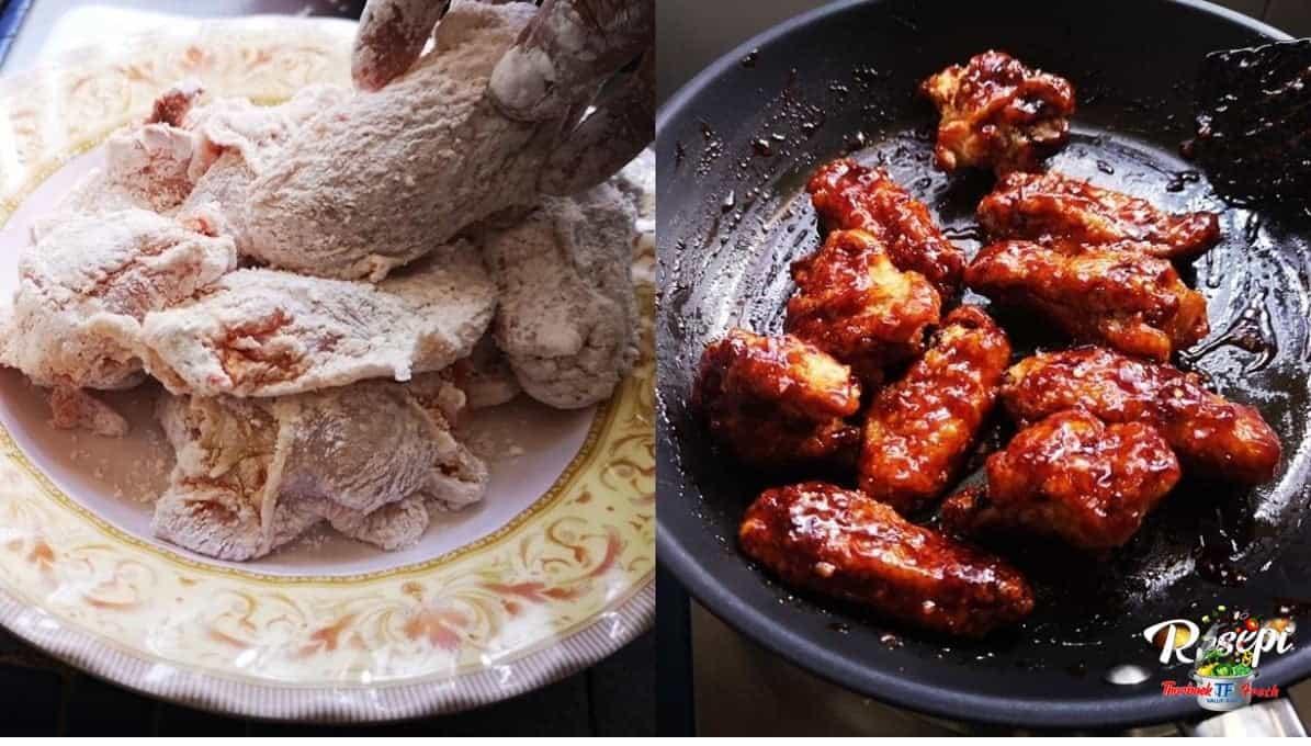 Resepi Ayam Ala Korea, Gerenti Sedap