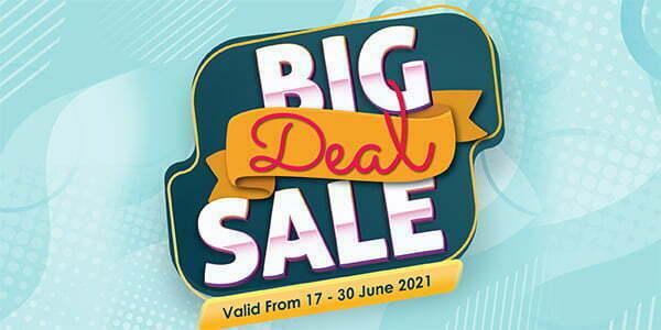 TFVM June Big Deal Sales (Valid from: 17 – 30 June 2021)