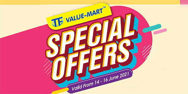 TFVM (June) Special Offers (Valid from: 14 – 16 June 2021)