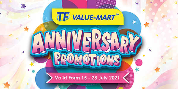 TFVM Anniversary Promotions 2 (Valid from 15 – 28 July 2021)