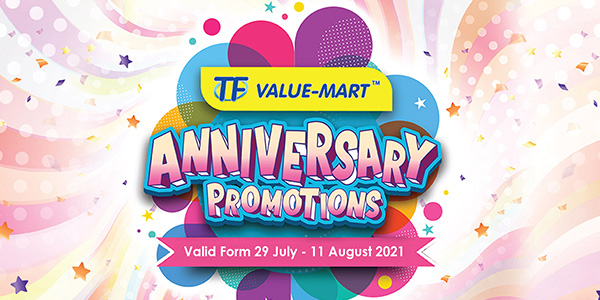 TFVM Anniversary Promotions 2 (Valid from 29 Jul – 11 Aug 2021)