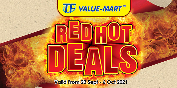 TFVM – RED HOT DEALS (Valid from 23 Sept – 06 Oct 2021)